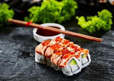 Sake gold sushi ksiazenice