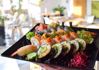 zestaw sushi książenice